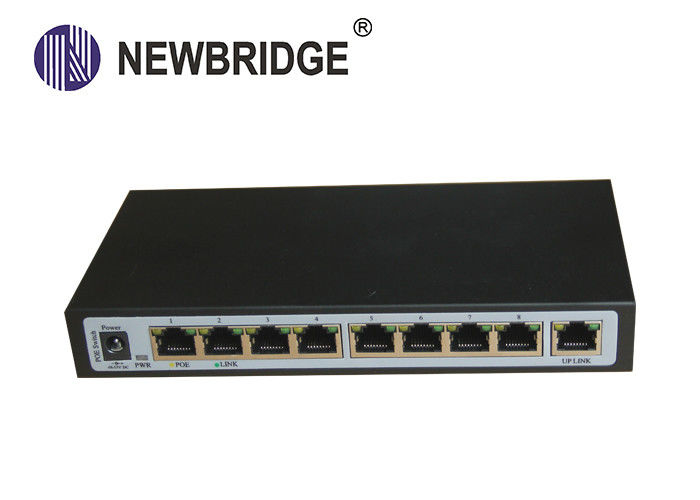 RJ45 Port 100M Industrial Ethernet Switch/8 PoE port industrial network switch